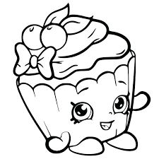 New Coloring Sheets Of Shopkins And Free Printable Coloring Pages