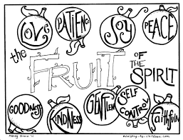 Small Picture Printable Coloring Page About Goodness For Kids With Free Fruit Of