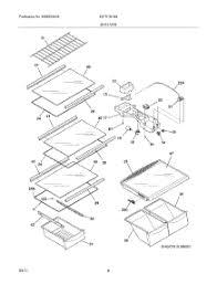 parts for kelvinator katr1816mw0 refrigerator appliancepartspros com RV Refrigerator Diagram 07 shelves parts for kelvinator refrigerator katr1816mw0 from appliancepartspros com