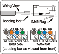 insert cable wiring diagram wiring diagram schematics assemble category 6 plug wire cat6 solid stranded terminate cable