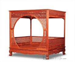 Factory can be customized King full Bed Frame Chinese Retro Classic ...