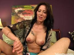 Mom gives son hand job slutload