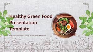 Food Presentation Template Wps Template Free Download Writer Presentation