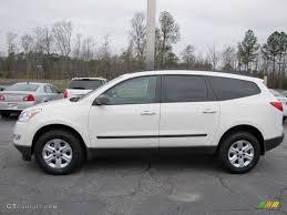 White 2012 Chevrolet Traverse LS Exterior Photo #57158812 ...