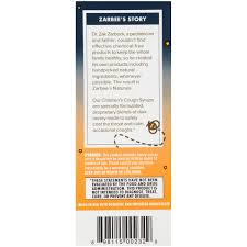 Zarbees Naturals Childrens Cough Syrup With Dark Honey