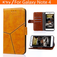 for fundas samsung galaxy note 4 case original luxury leather case for coque samsung note 4