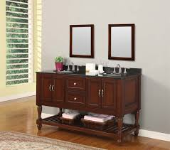 small bathroom double vanity. Magic Console Bathroom Vanity Photos 60 Mission Turnleg Style Double Sink Small G