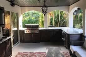 new outdoor kitchen cabinets installation in melbourne fl naturekast summer kitchens