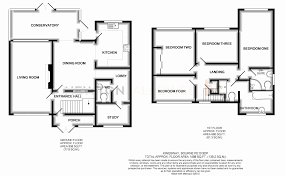 Two Bedroom Semi Detached House Plans Luxury 4 Bed Semi Detached House For  Sale In Kingsway Bourne Pe10