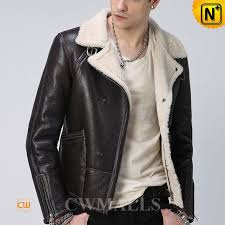 shearling flying jacket uk cw857185 cwmalls com