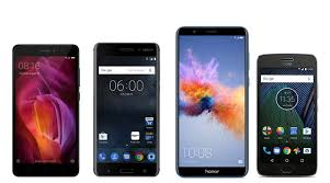 Redmi Note 4 Nokia 6 Moto G5 Honor 7X The best bud mobiles