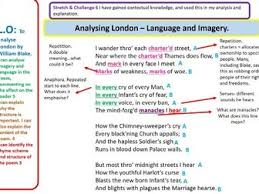 gcse wjec eduqas english literature poetry london william blake  gcse wjec eduqas english literature poetry london william blake analysis lesson by owl eyed resources teaching resources tes