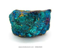 Bornite Peacock Ore Mineral Specimen On Stock Photo Edit