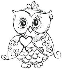 Owl Cute Drawing At Getdrawingscom Free For Personal Use Owl Cute