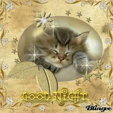 Image result for good night blingee images animals