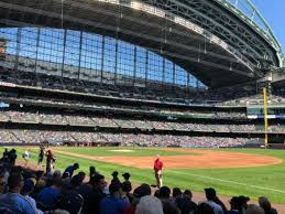 Miller Park Seating Chart Miller Park Section 110 Home Of Milwaukee Brewers