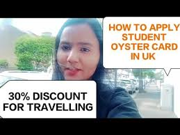 student oyster card full information
