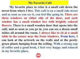 Childhood Essays Image Result For Descriptive Writing My Favourite Place