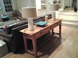sofa table plans. Image Of: Narrow Sofa Table Plans