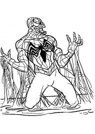 You can use our amazing online tool to color and edit the following spiderman venom coloring pages. Venom Coloring Page Q2 Spiderman And Pages For Kids Incredible Hulk The Thing Jaimie Bleck