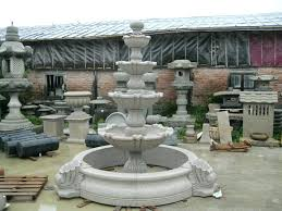 tiered garden fountains large for sale water near me n38