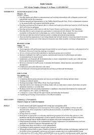 Sample Educator Resumes Educator Resume Samples Velvet Jobs