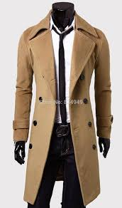 2018 custom made brown trench coat men double ted winter overcoat men long coat cashmere wool coat winter coats for men from lookpack