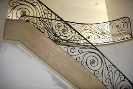 decorative railings. decorative iron interior railing - residential railings