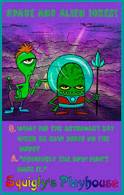 Small Picture Funny Space and Alien Jokes for kids by kids Riddles Jokes