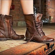 steve madden women s brown troopa combat boots m 5a7f9e8b45b30c0c42ce8846