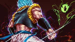 Gogeta Super Saiyan Blue Dragon Ball ...