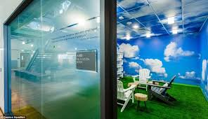 office relaxation. Time Out: California-based Software Company VMWare Installed A Dedicated Rest And Relaxation Space Called \u0027the Cloud Room\u0027, Where Tired Workers Can Doze Off Office