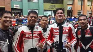 Ducati riders with Marlon Stockinger take part in the Globe Slipstream  event in BGC - Erica YuB