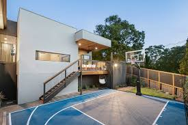 backyard basketball court australia