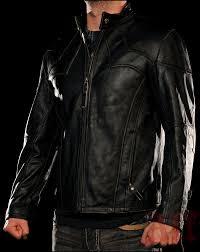 affliction live fast future perfect blazer black leather affliction affliction