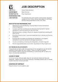 Sales Assistant Description Yederberglauf Verbandcom