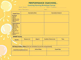 Coaching Plan Template Unique Performance Improvement Plan Templates Examples Free Performance