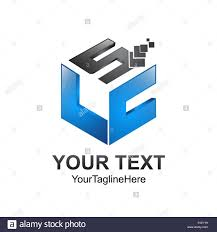 Cube Design Template Cube Pixel Letter Slc Initial Alphabet Logo Design Template