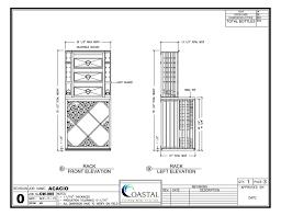 Diamond Bin Wood Wine Racks Design Drawing This shows the drawers