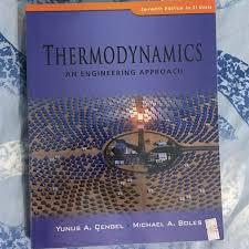 Thermodynamics An Engineering Approach, Books & Stationery ...