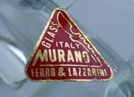 authentic murano glass label