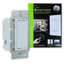Ge Smart Switch No Blue Light Ge Z Wave Plus In Wall Smart Switch