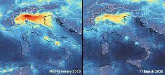 Así se han reducido la emisiones de NO2 por las medidas c...
