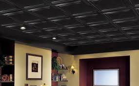 floating ceiling systems easy elegance shallow coffer black item 1282bl ceiling tiles painteddrop