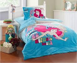 mermaid twin bedding set blue the little kids sets 12