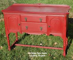 painted red furniture. Red Buffet_final1 Painted Furniture
