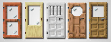 glass door texture pack mcpe