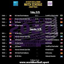 Korfball.org - Day 1 Results & Day <b>2</b> Match Schedule (Group ...