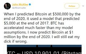 Will Mcafee Eat His Own Dick