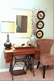 Old Singer Sewing Machine Table Ideas